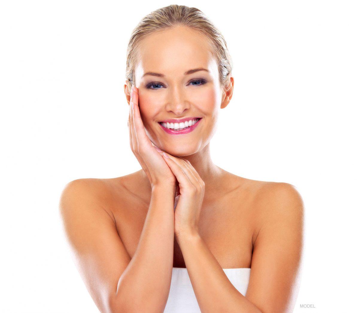 woman for botox
